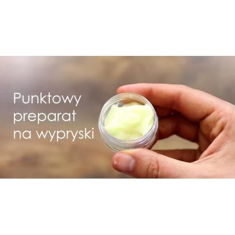 DIY Punktowy preparat na wypryski -- Stwórz Własny Kosmetyk
