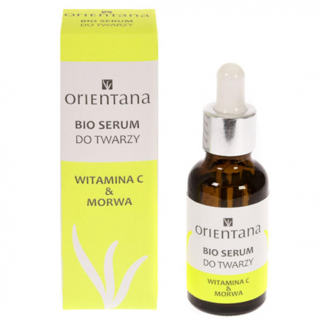 Orientana Bio serum do twarzy Witamina C i Morwa 30 ml
