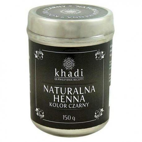 Khadi naturalna Henna Czarna 150 g
