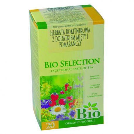 APOTHEKE Herbata Rokitnikowa z dodatkiem mięty i pomarańczy Bio 20 x 1,8 g