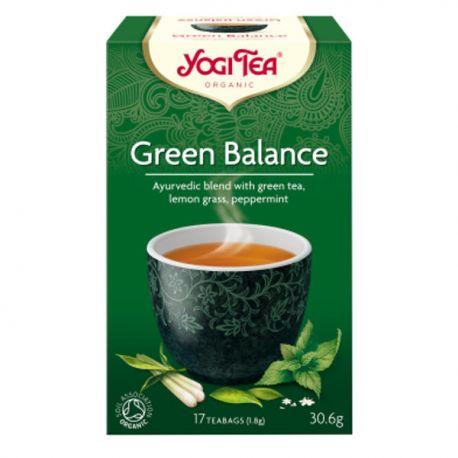 Yogi Tea Herbata Zielona Równowaga BIO 17x1,8 g