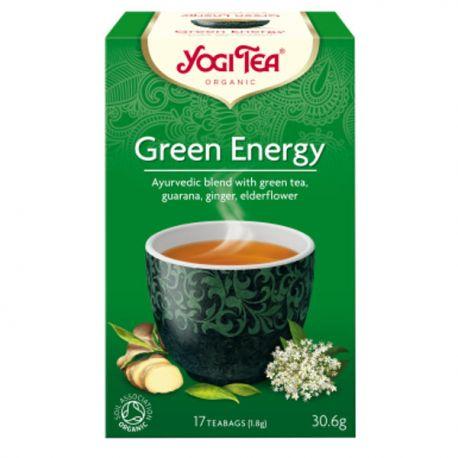 Yogi Tea Herbata Zielona Energia BIO 17x1,8 g