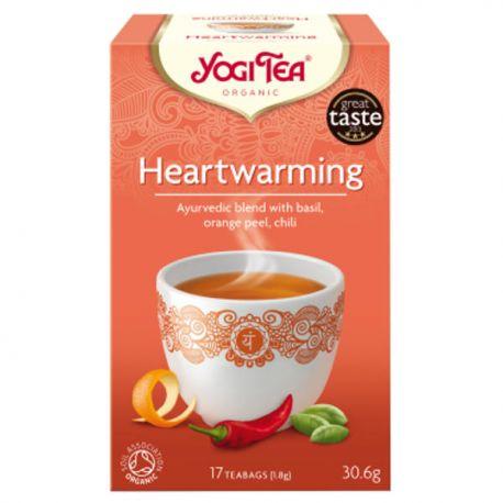 Yogi Tea Herbata Rozgrzewająca BIO 17x1,8 g
