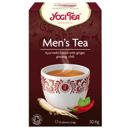 Yogi Tea Herbata dla Mężczyzn BIO 17x1,8 g