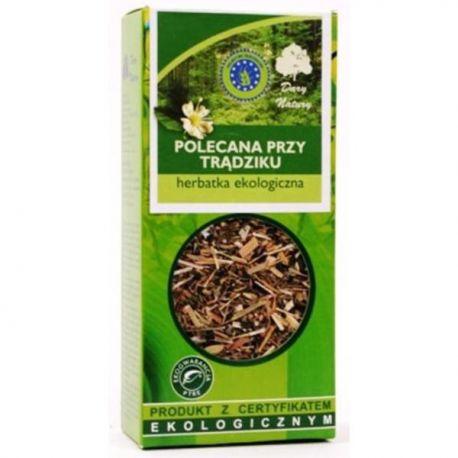 Dary Natury Polecana przy Trądziku Herbatka Ekologiczna 50 g