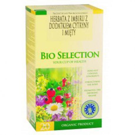 APOTHEKE Herbata Imbirowa z dodatkiem cytryny i mięty BIO 20x1,5 g
