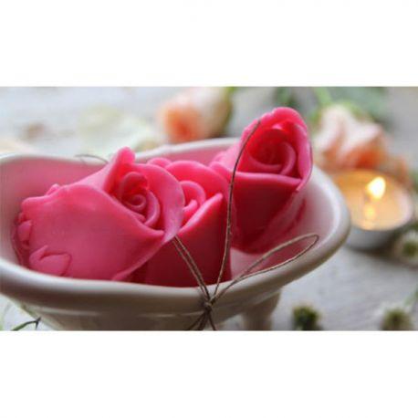 Happy Soaps Mydło Glicerynowe Kwiat Róży 45 g