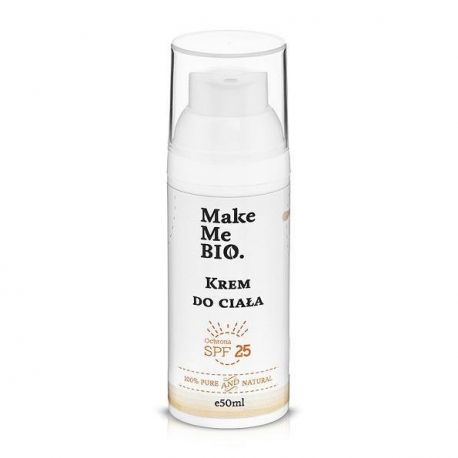 Make Me Bio - Krem do ciała SPF 25 - 50 ml