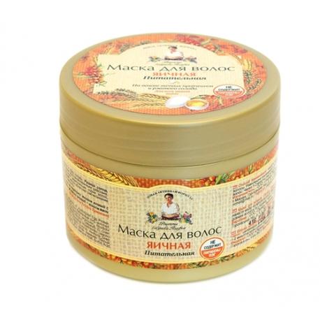 Receptury Babuszki Agafii Maska do włosów jajeczna 300 ml