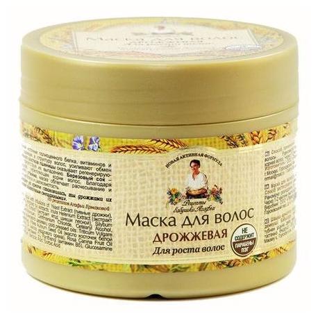 Receptury Babuszki Agafii Maska do włosów drożdżowa 300 ml