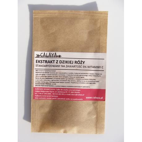Ekstrakt z Dzikiej Róży - standaryzowany na zawartość 5% Witaminy C
