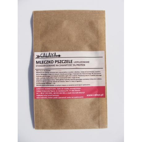 Mleczko Pszczele Liofilizowane 5% protein