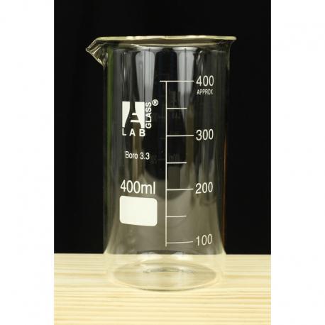 Zlewka wysoka szklana 400ml