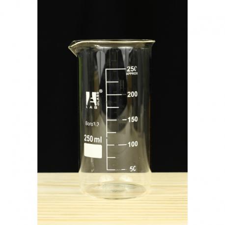 Zlewka wysoka szklana 250ml