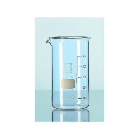 Zlewka wysoka szklana 100ml