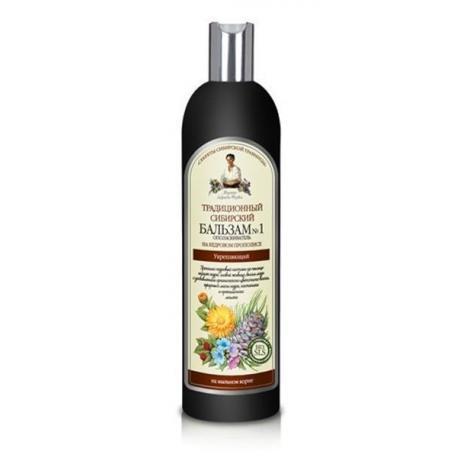 Receptury Babuszki Agafii Balsam do włosów No 1 na cedrowym propolisie - wzmacniający 550 ml