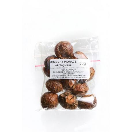 Próbki orzechów piorących