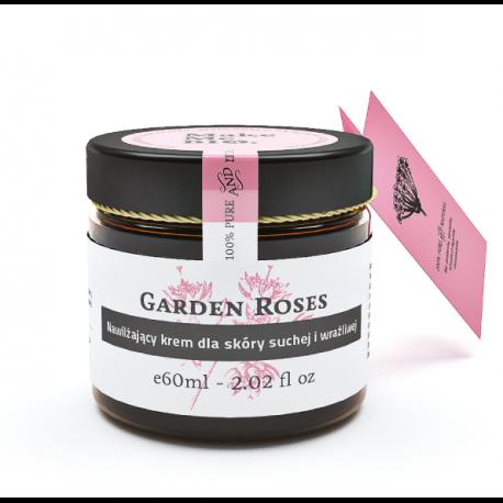 Make Me Bio Garden Roses Nawilżający krem do skóry suchej i wrażliwej 60 ml