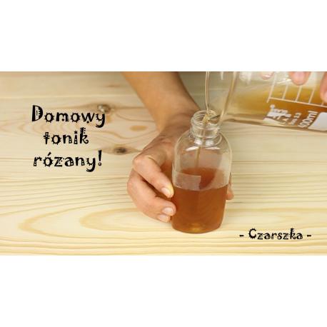 DIY Domowy tonik różany