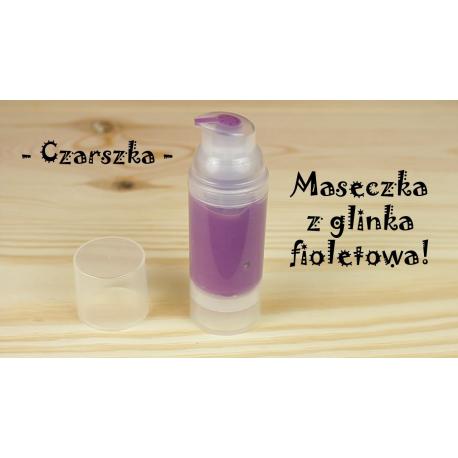 DIY Maseczka z glinką fioletową